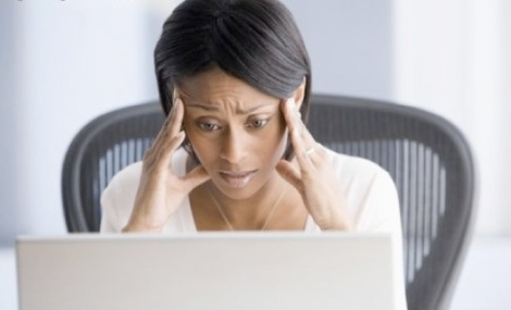 black-woman-at-work-stressed